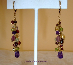 Amethyst Confection Earrings
