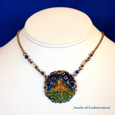 Dawn in Indigo Necklace