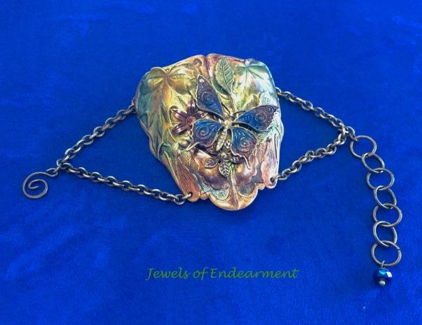 Sapphire Butterfly Bracelet