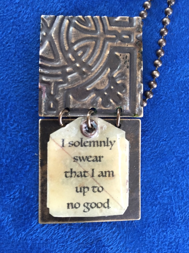 I solemnly swear I am up to no good!