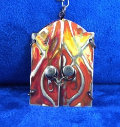 Doors of Fire Necklace